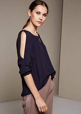 Sommerliche 3/4-Arm Bluse mit tollen Details
