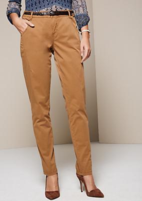 Sportliche Pants mit raffinierten Details
