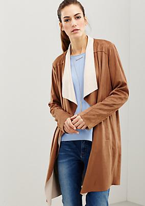 Weicher Mantel mit schönen Details