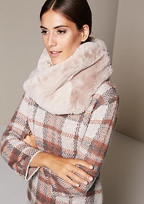 Winterschal aus kuscheligem Fake-Fur
