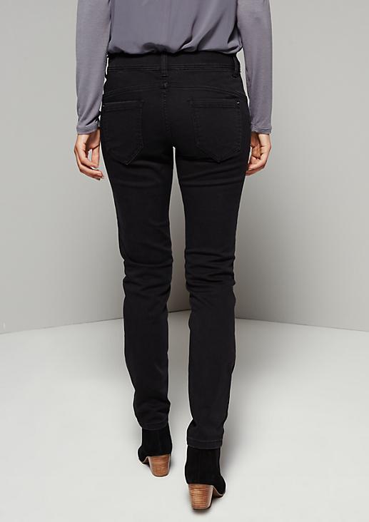 Edle 5-Pocket Jeans in aufregender Waschung