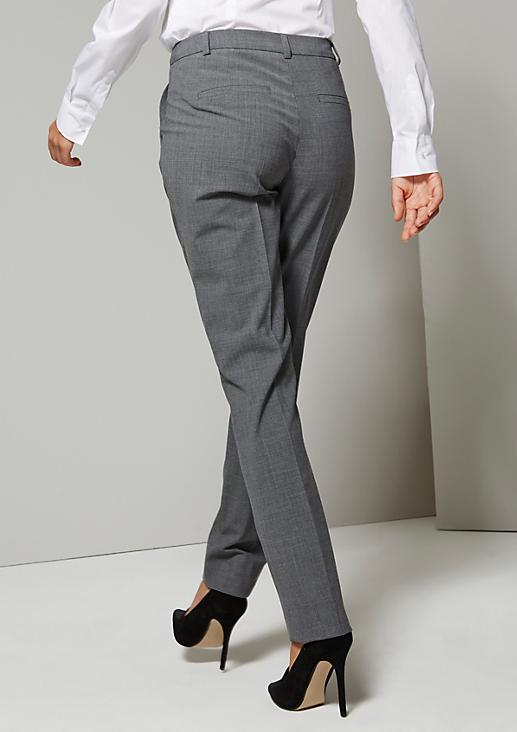 Elegante Businesspants mit raffinierten Detailarbeiten