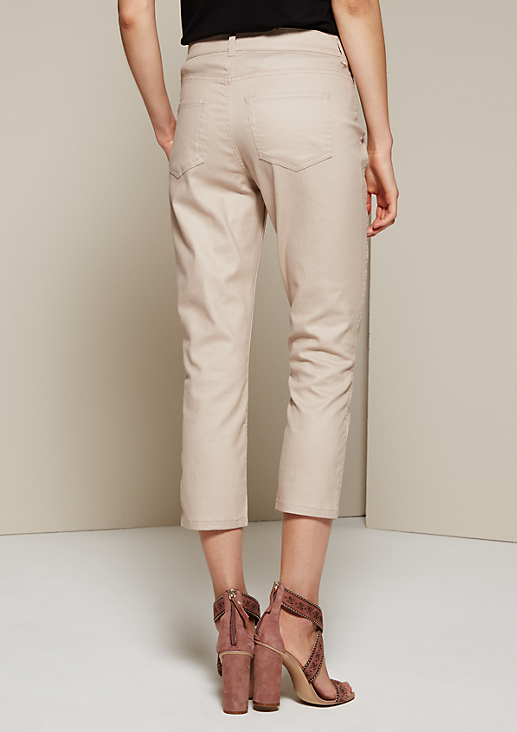 Elegante Coloured-Denim in 3/4-Länge