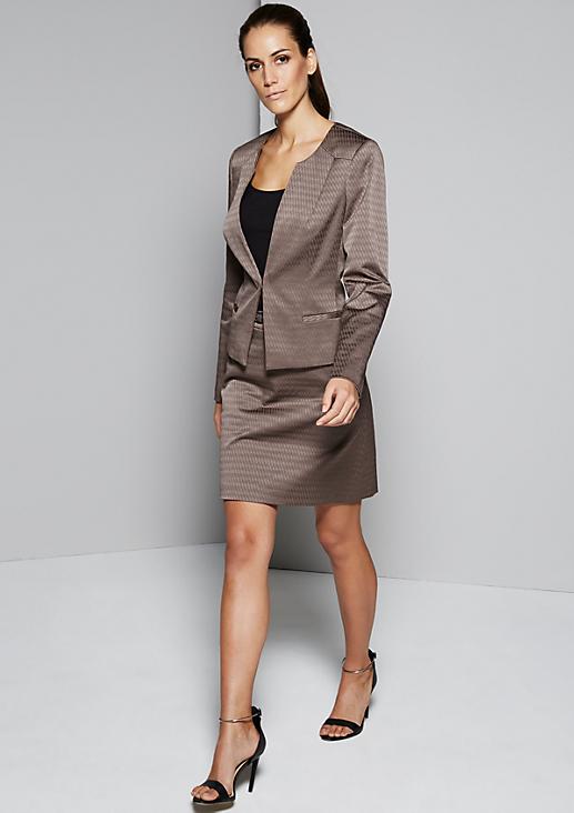 Eleganter Blazer mit glamourösem Jacquardmuster