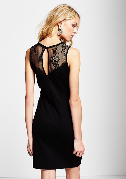 Elegantes Abendkleid mit hauchzarten Spitzendetails
