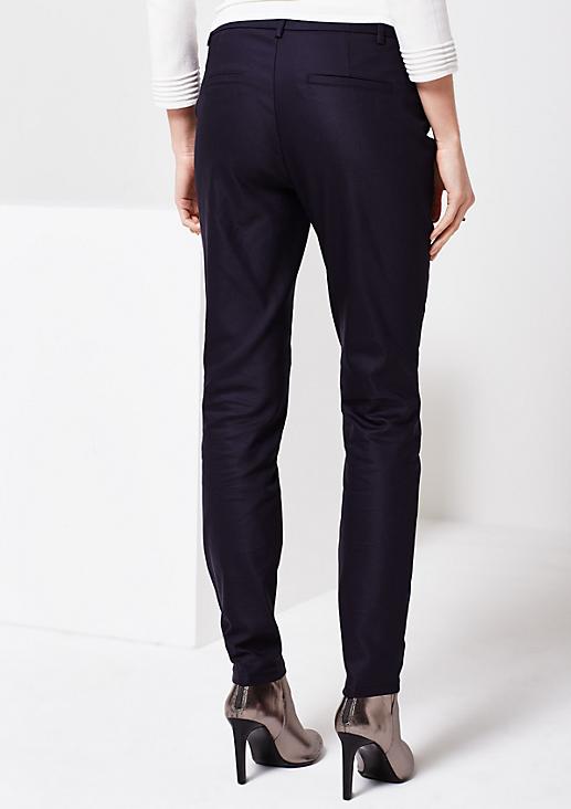 Extravagante Businesspants mit Zipperdetails