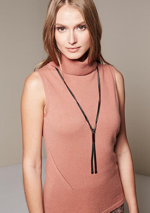 Extravagante Halskette mit Zierhülse