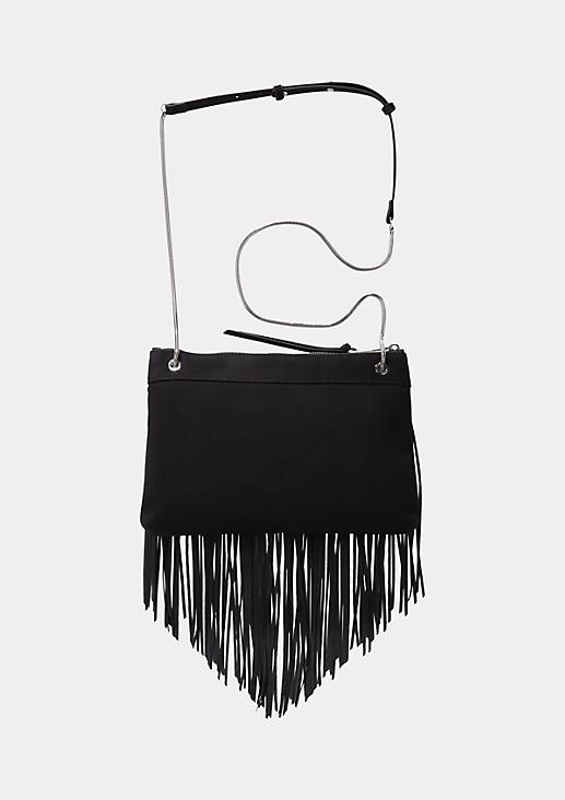 Glamouröse Abendtasche mit langen Fransen