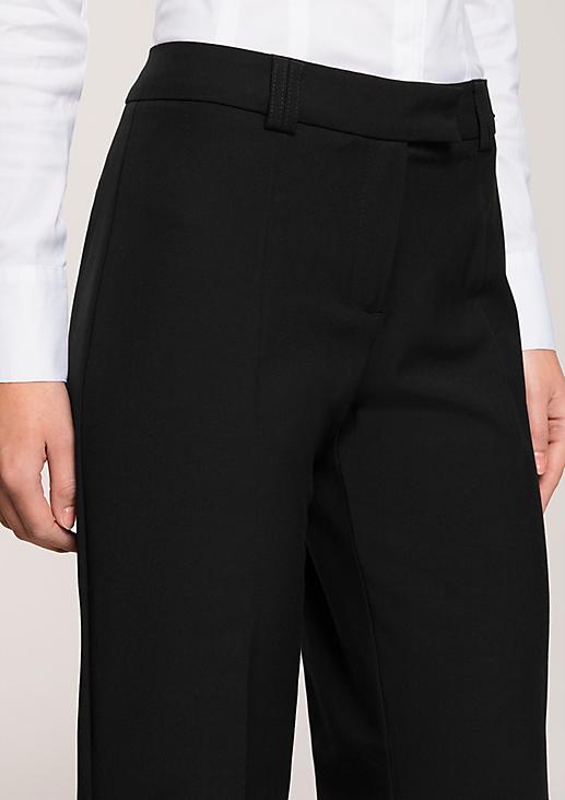 Klassische Anzughose in elegantem, schlichten Design