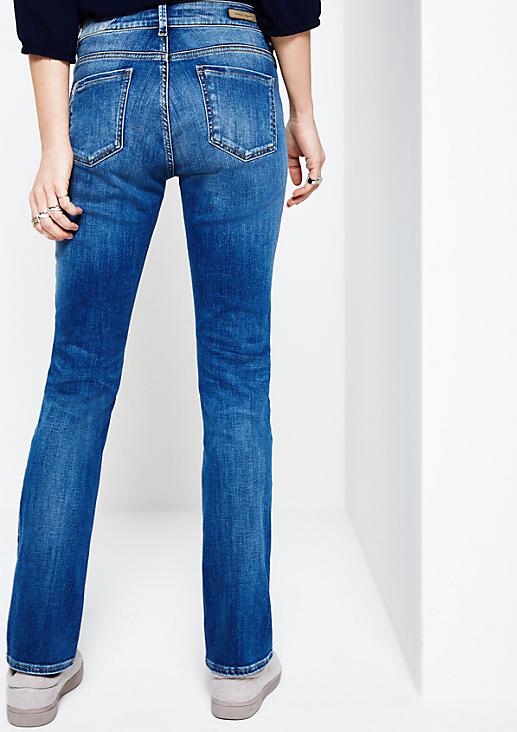 Klassische Jeans in Vintage-Optik
