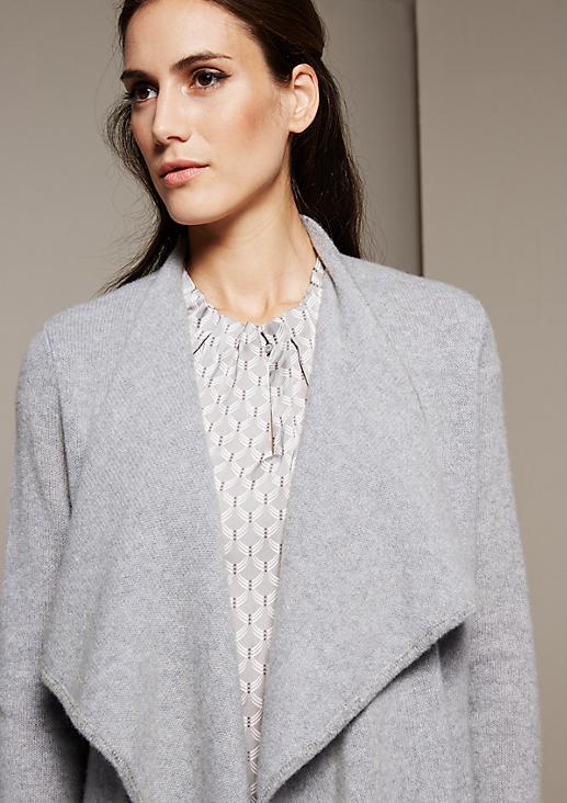 Kuscheliger Wollmantel mit tollen Details