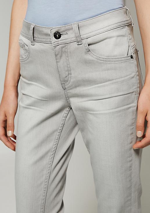 Lässige 5-Pocket Jeans mit schönen Details
