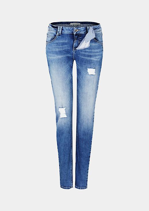Lässige Boyfriend-Jeans in Vintage-Optik
