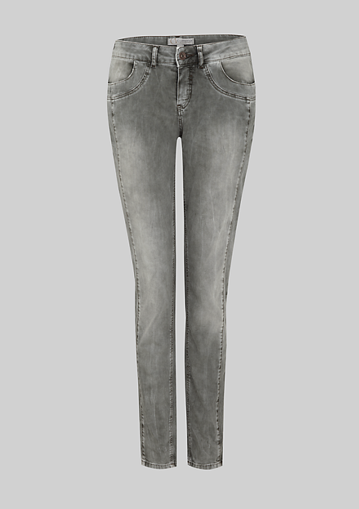 Lässige Pants in rougher Used-Waschung