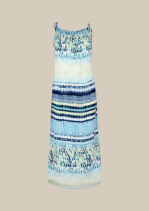 Lässiges Krepp-Maxikleid mit liebevoll gestaltetem Alloverprint