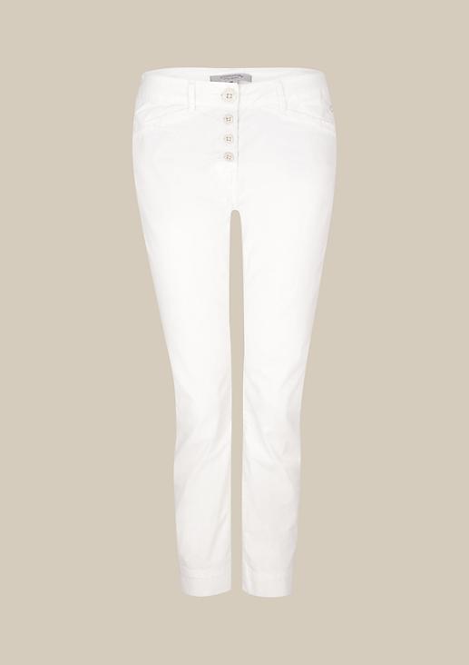 Sommerliche 7/8-Pants in feiner Waschung