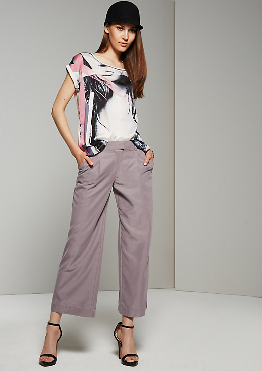 Trendige Culotte mit schönen Details