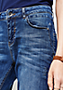 5-Pocket Jeans in Used-Optik