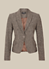 Edler Blazer in Tweed-Optik