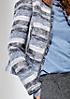 Edler Blazer mit aufregendem Streifenmuster