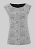 Edles Top mit elegant gestaltetem Jacquardmuster