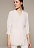 Elegante Bluse mit fein gestaltetem Dobbymuster