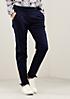 Elegante Pants mit feinem Jacquardmuster