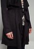 Eleganter Mantel aus weichem Alcantara