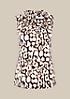 Elegantes Satintop mit dekorativem Allovermuster