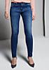 Klassische Jeans im angesagten Used-Look