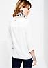 Lässige 3/4-Arm Bluse mit feinem Detailarbeiten