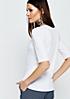 Schönes Jerseyshirt mit kurzen Ärmeln