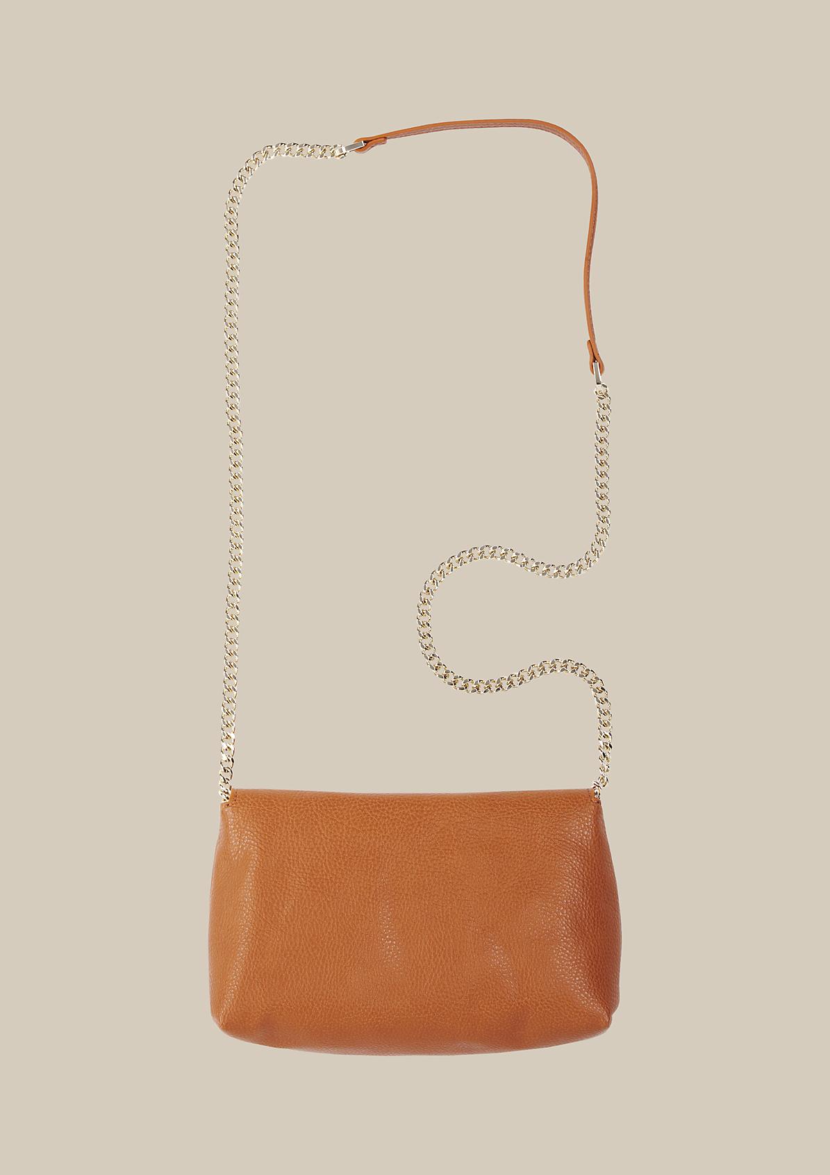 Klassische Abendtasche in edler Lederoptik