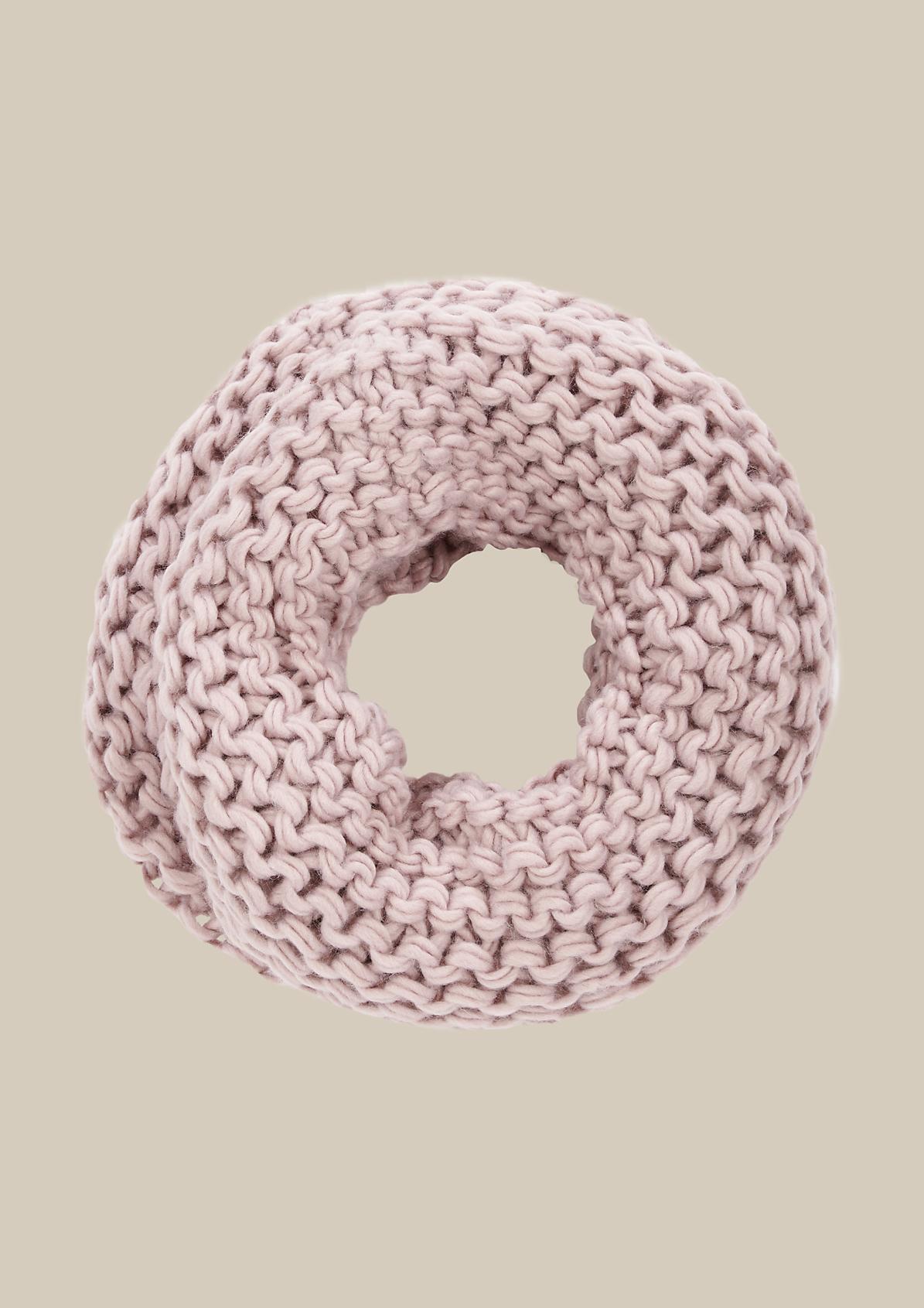 Kuscheliger Schal aus Grobstrick