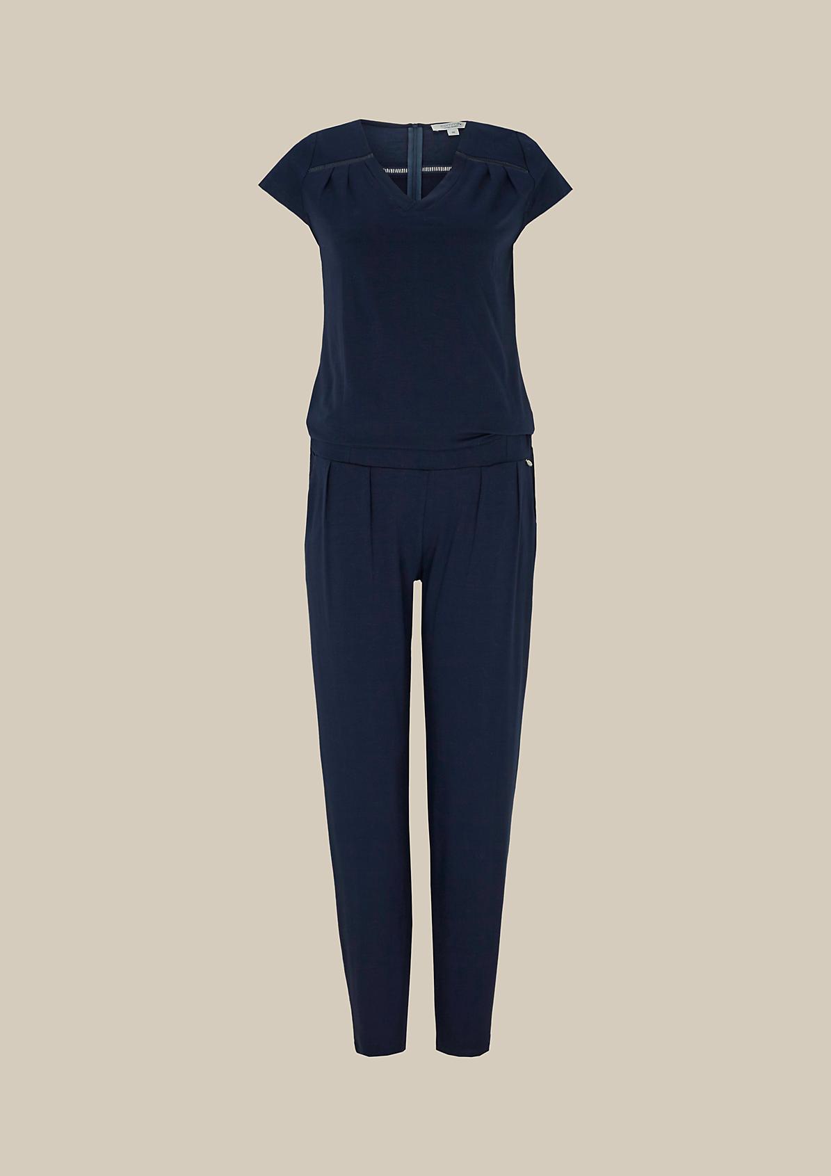 Legerer Jersey-Jumpsuit mit tollen Details