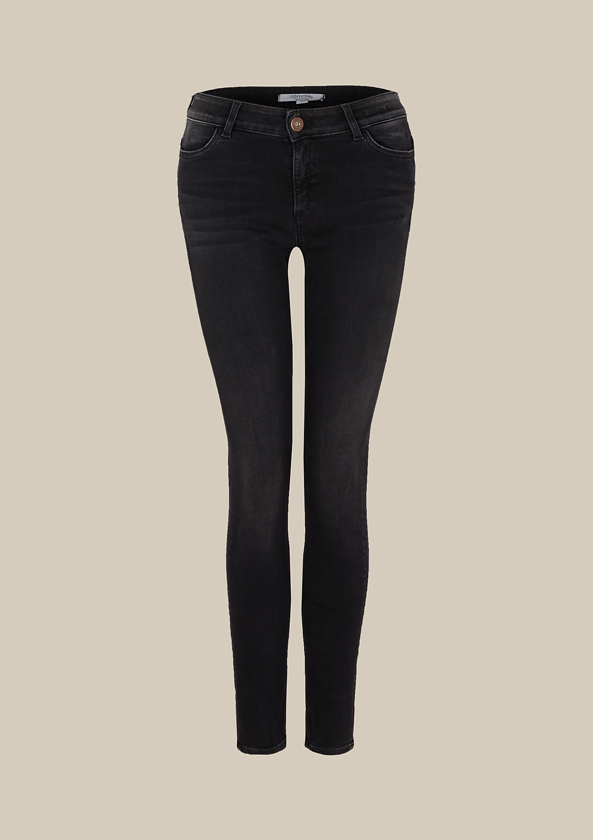 Sportliche Jeans in Used-Optik