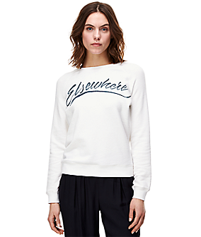 """Elsewhere"" sweatshirt F1160001 from liebeskind"