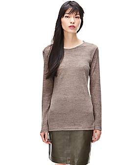 Airy fine knit jumper F1171101 from liebeskind