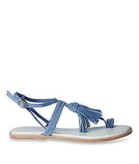 Fringe sandal LS0098 from liebeskind