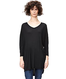 Langes Oversize-Shirt S1161012
