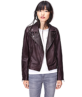 Leather jacket W2167500 from liebeskind