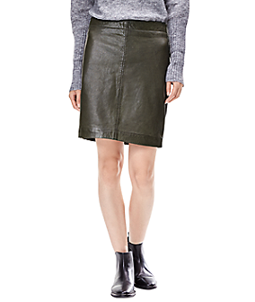 Leather skirt W1167300 from liebeskind