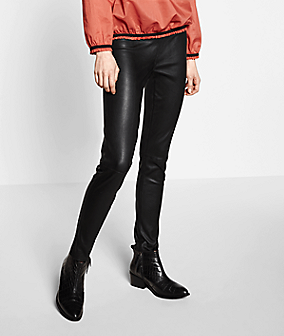 Leggings aus Leder F2175400