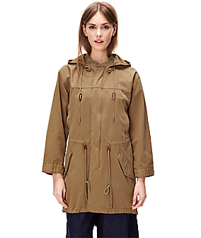 Lightweight parka F1163002 from liebeskind