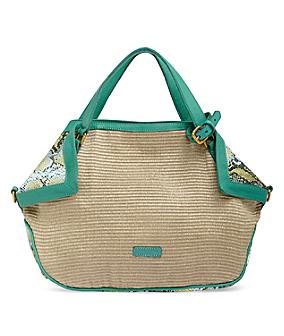 Mixed material handbag from s.Oliver