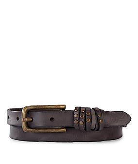 Narrow belt with studs from liebeskind