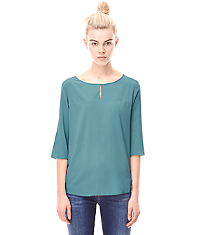 Silk blouse H2162102 from liebeskind