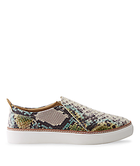 Slip-ons in a snakeskin design LS0093 from liebeskind