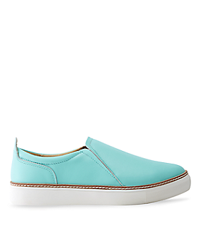Smooth leather slip-ons LS0095 from liebeskind
