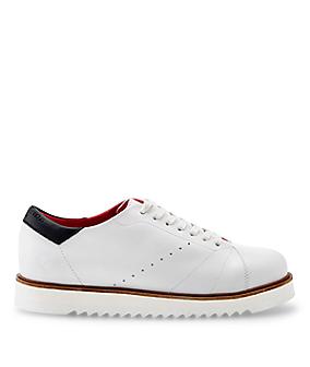 Sneakers en cuir lisse LS0114 de liebeskind